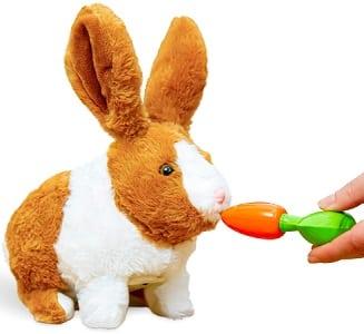 Electronic Pet Rabbit Toy for Boys & Girls
