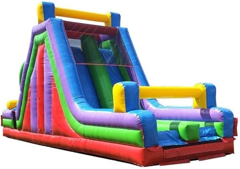 Inflatable Rock Climb & Slide Obstacle Course