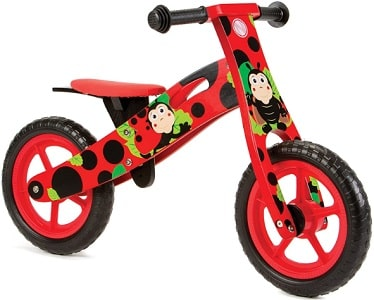 Kids ladybird balance bike