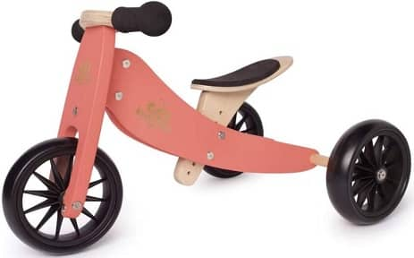 Kinderfeets, Kids Tiny Tot Balance Bike, Adjustable Seat
