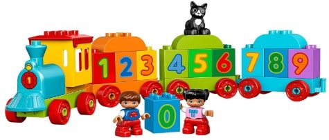Learning and Counting Train Set Educational Toy for 1 - 3 Year Olds