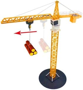 Simulation Remote Control RC Tower Crane Toy
