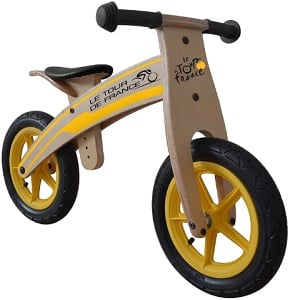 Tour de France Wood Balance Bike