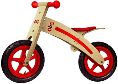 Zum CX Wooden Kids Balance Bike for Toddlers