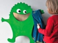 Monster Clothes Rack