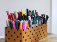 DIY Arts & Crafts Storage