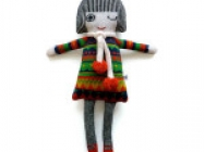 Lambswool Knitted Dolly