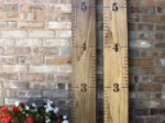 Growth Chart Ruler DIY Vinyl Decal