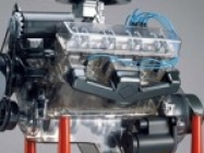 Visible V-8 Engine Assembly Kit