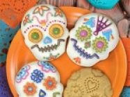 Sugar Skull Cookie Stamps