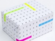 DIY Word Search Gift Wrap