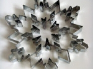 Giant Snowflake Cookie Cutters