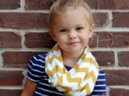 Toddler Infinity Scarves