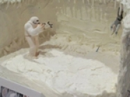 Planet Hoth Wampa Star Wars Cake