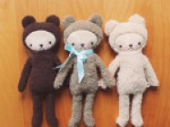 Kawaii Style Plush Teddy Bears