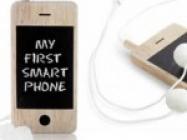 i-Woody Chalkboard Smartphone