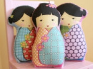 Petunias Stuffed Dolls